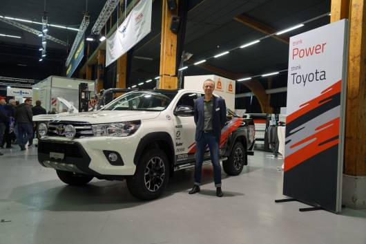 Toyota Der Hilux im Rallye-Dress