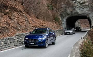 Maserati Levante Winterdrive Experience