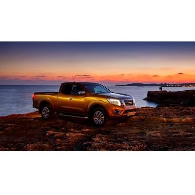Nissan NP300 Navara erobert internationale Pick-up-Krone