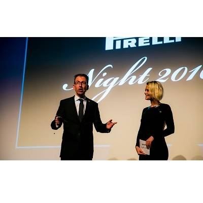 Pirelli Night – Exklusive Präsentation des «Cals» 2016