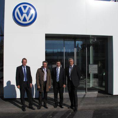 Neues VW-Center in Schlieren
