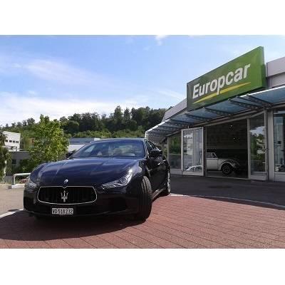 Europcar: nun auch Maserati im Angebot