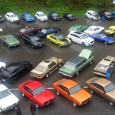 Power, Action und Spass am 28. Opel-Treffen in Hoch-Ybrig