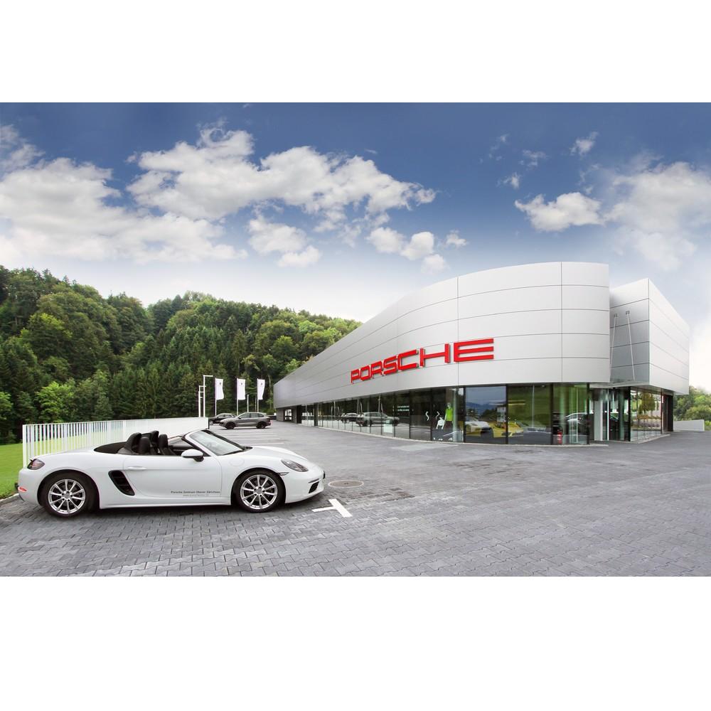 Porsche Zentrum Oberer Zürichsee in Feusisberg eröffnet