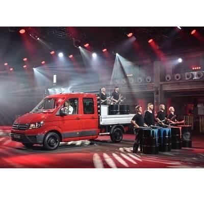 Weltpremiere des neuen VW Crafter