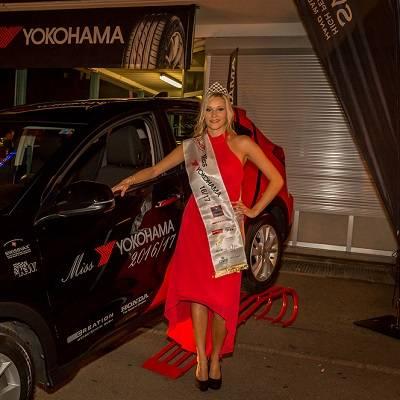 Romana Möckli ist Miss Yokohama 2016/17
