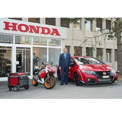 Muller neuer Präsident von Honda Suisse