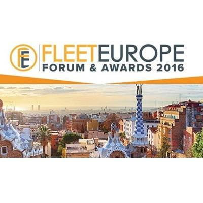 Fleet Europe Forum & Awards 2016: Europas Flottenbranche trifft sich am 16. November in Barcelona