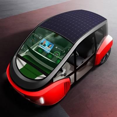 CES-Weltpremiere: Rinspeeds kleines, grünes Auto