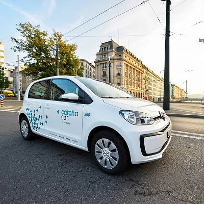 Neues Carsharing-Angebot Catch a Car startet in Genf