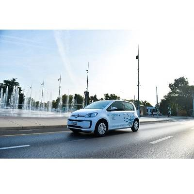 VW liefert 100 up! an Carsharing Anbieter Catch a Car in Genf