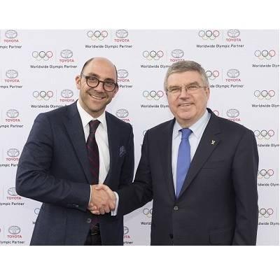 Toyota als Mobilitäts-Partner des Internationalen Olympischen Komitees