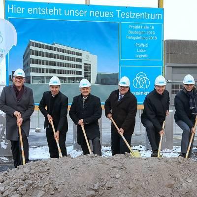 thyssenkrupp baut neues Testzentrum für Lenkungstechnologie in Liechtenstein