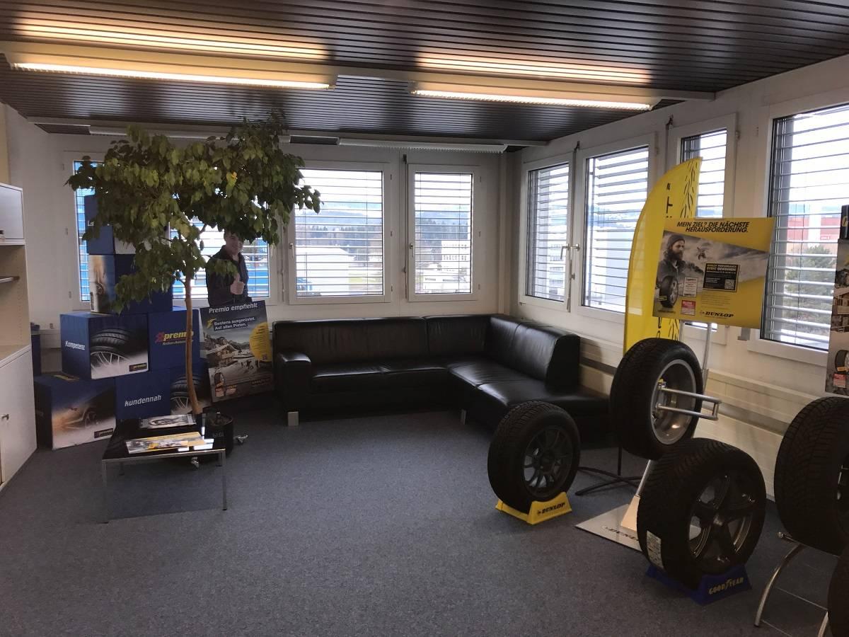 Goodyear Dunlop Suisse SA im neuen Glanz