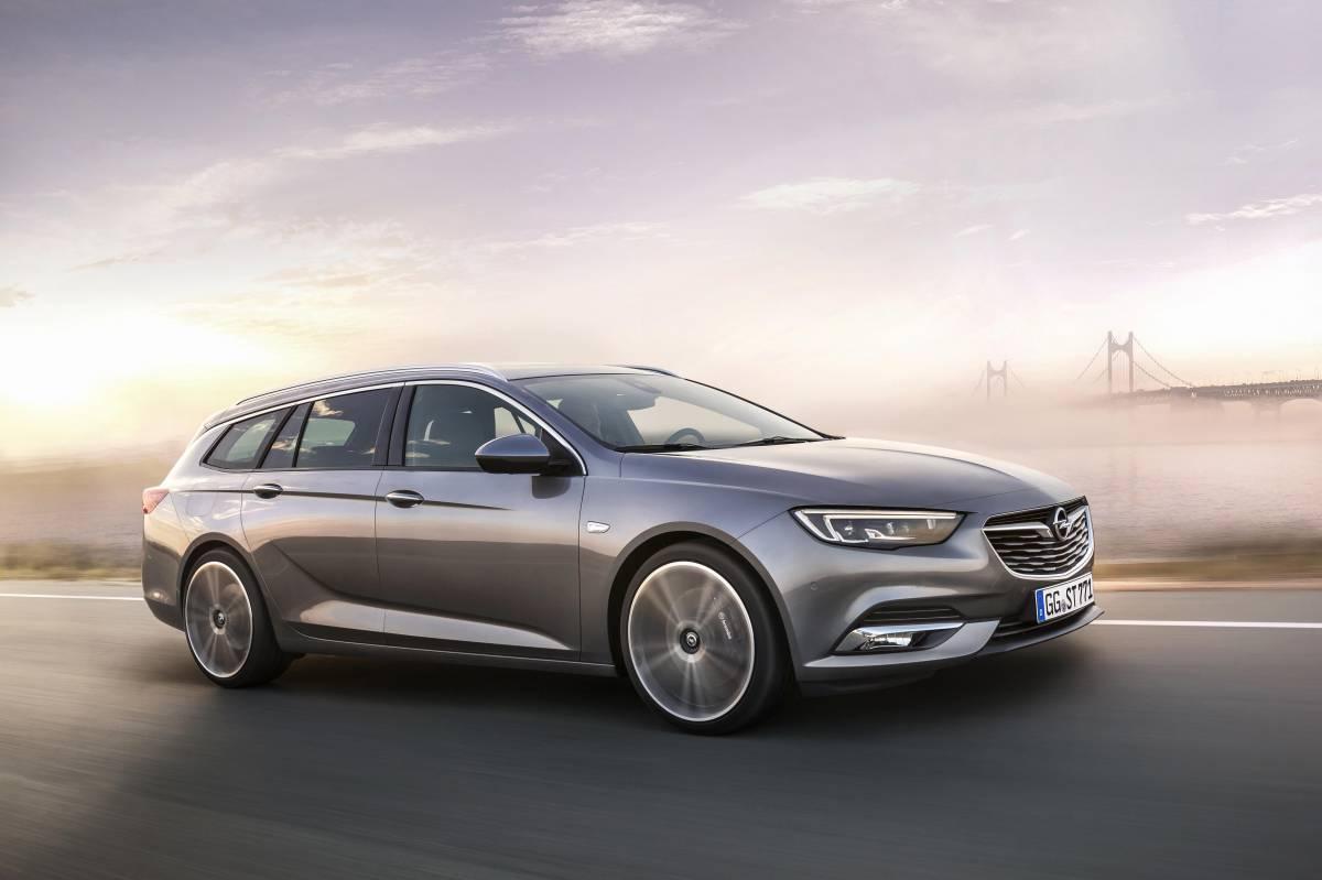 Der neue Opel Insignia Sports Tourer ist startklar