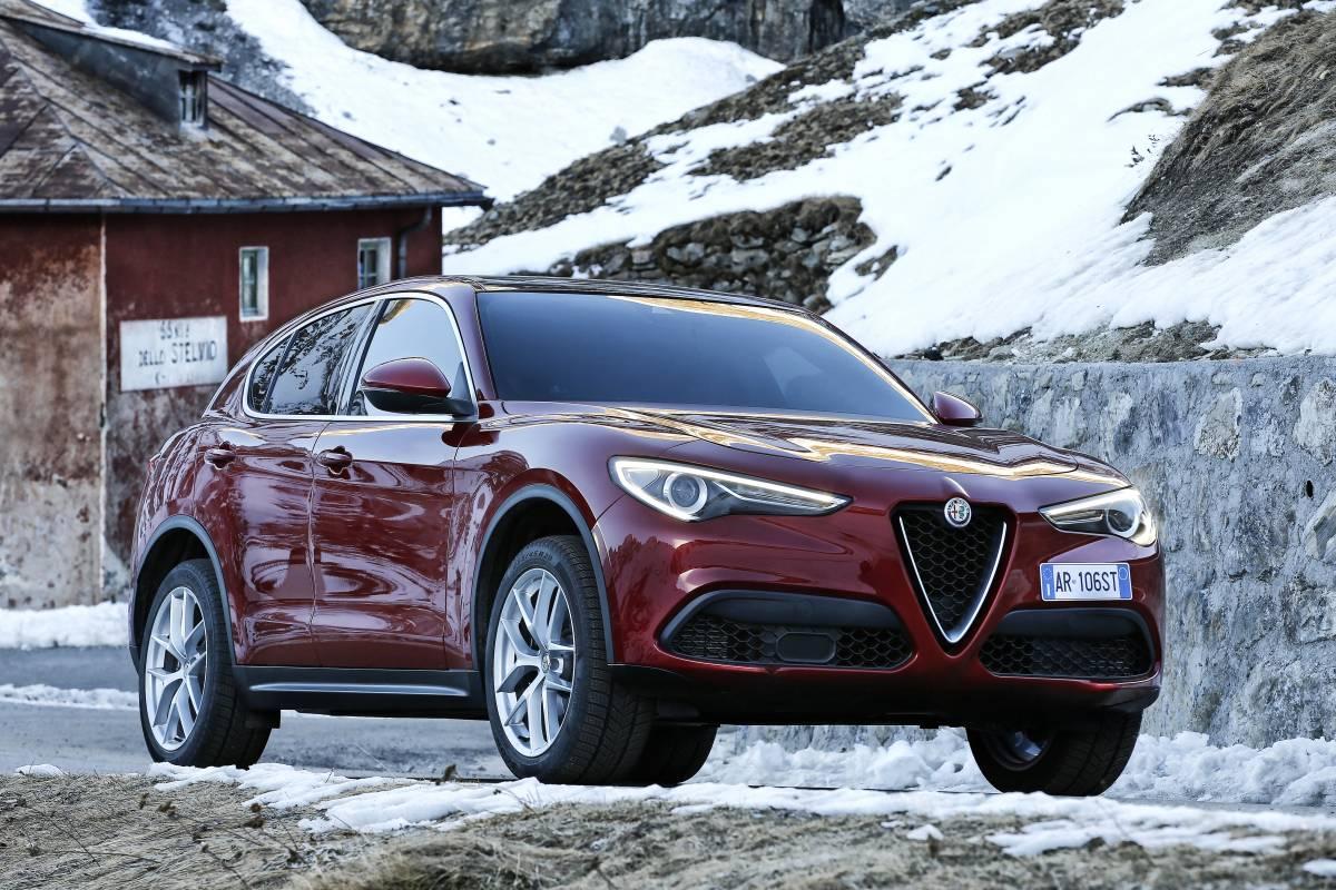 Alfa Romeo Stelvio: Erste Fahrt aufs Stilfser Joch