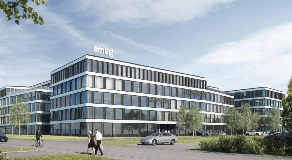 Neues AMAG-Bürohaus entsteht in Cham