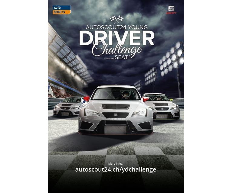 AutoScout24 sucht Nachwuchsrennfahrer