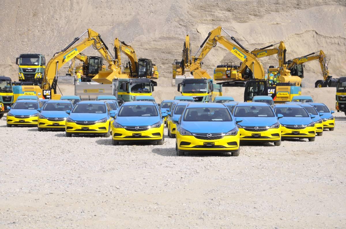 Eberhard Image-Fahrzeuge kommen aus dem Hause Opel