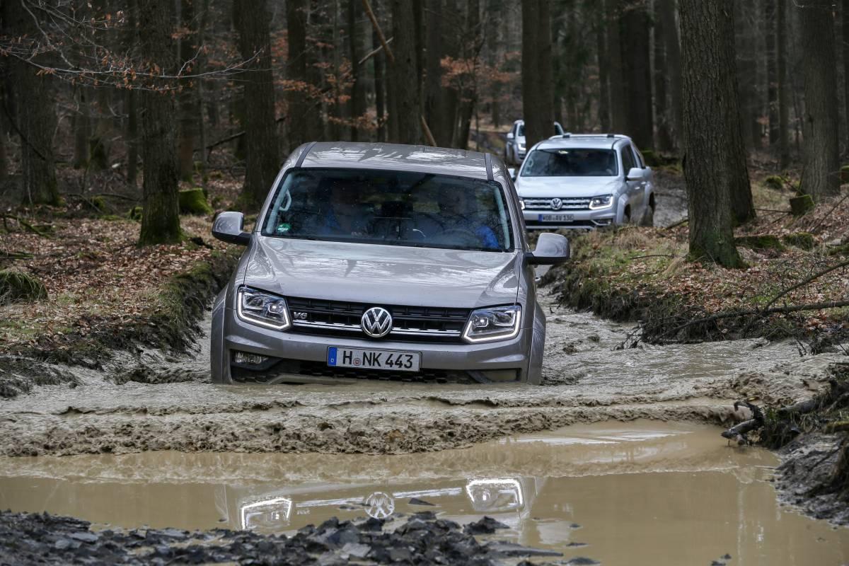 Mit VW Nutzfahrzeuge darf man getrost vom Weg abkommen