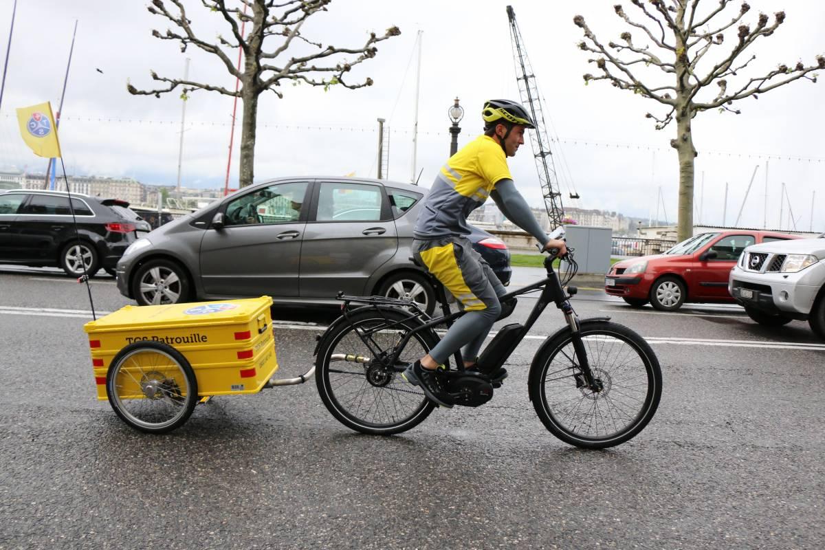 TCS in Zürich und Genf jetzt auch auf E-Bikes unterwegs