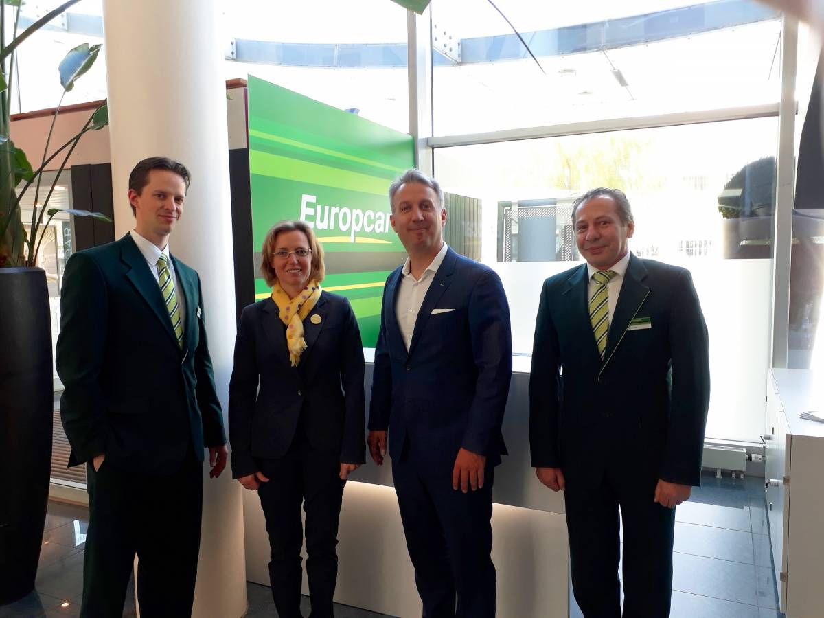Neue Europcar-Station im Novotel Zürich City West
