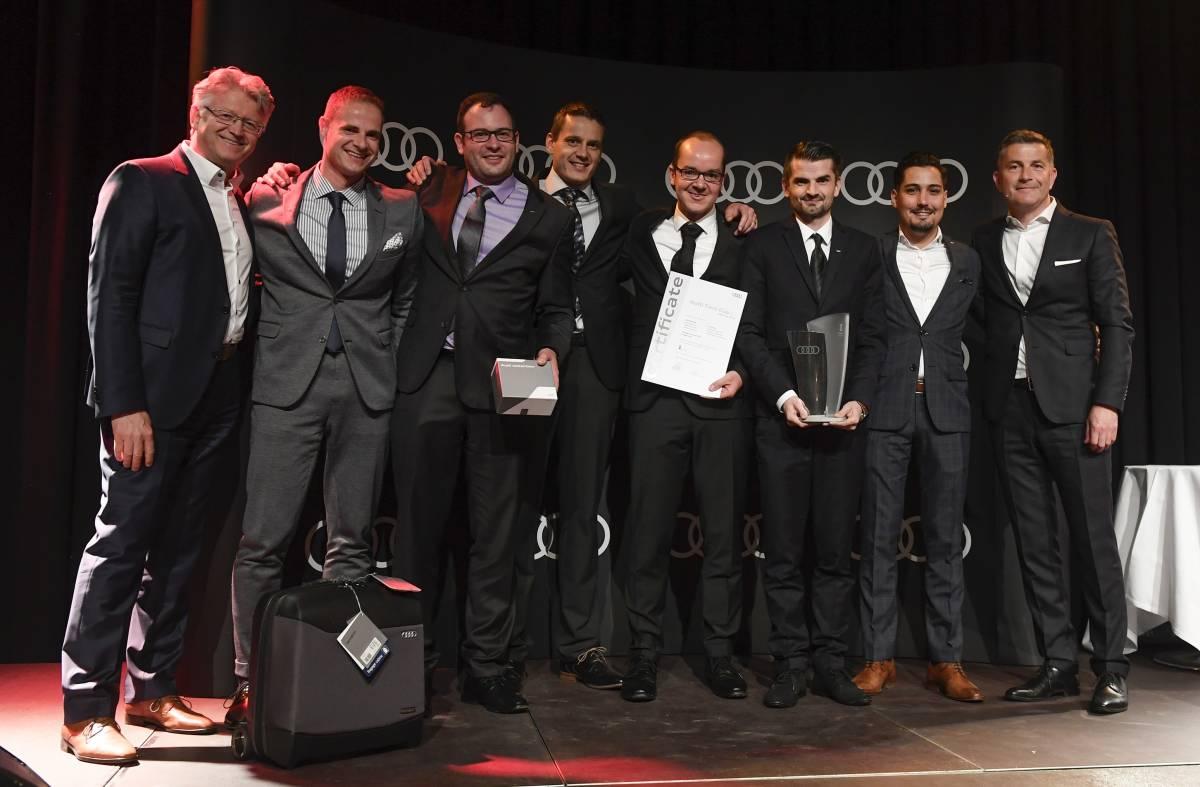 Garage Gautschi AG gewinnt den Audi Twin Cup in der Schweiz