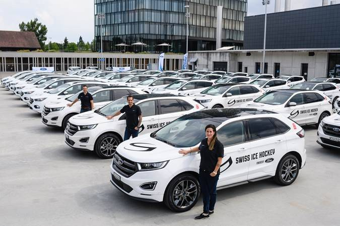 Ford: neuer Car Supplier von Swiss Ice Hockey