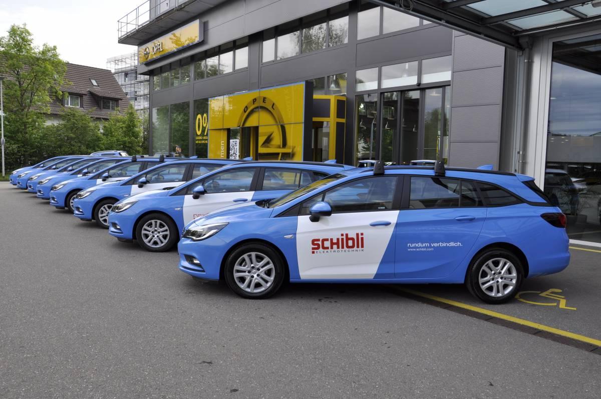 Die Schibli-Gruppe vertraut auf die Marke Opel