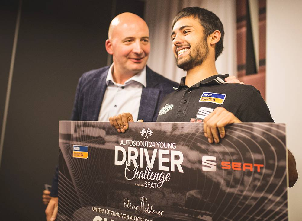 «AutoScout24 Young Driver Challenge powered by SEAT»: Der Sieger steht fest