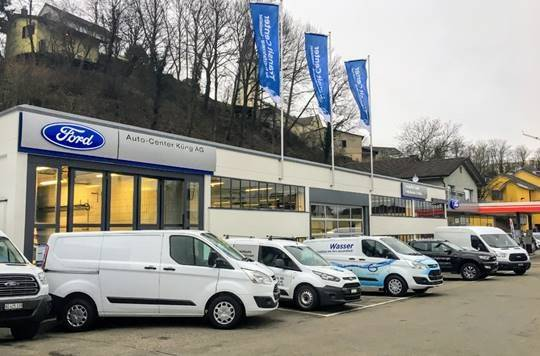 Neues Ford Transit Center in Gebenstorf