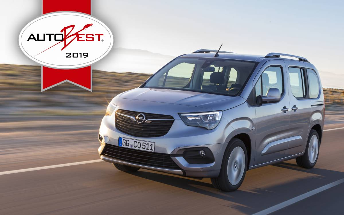 AUTOBEST: Opel Combo Life ist das «Best Buy Car of Europe 2019»