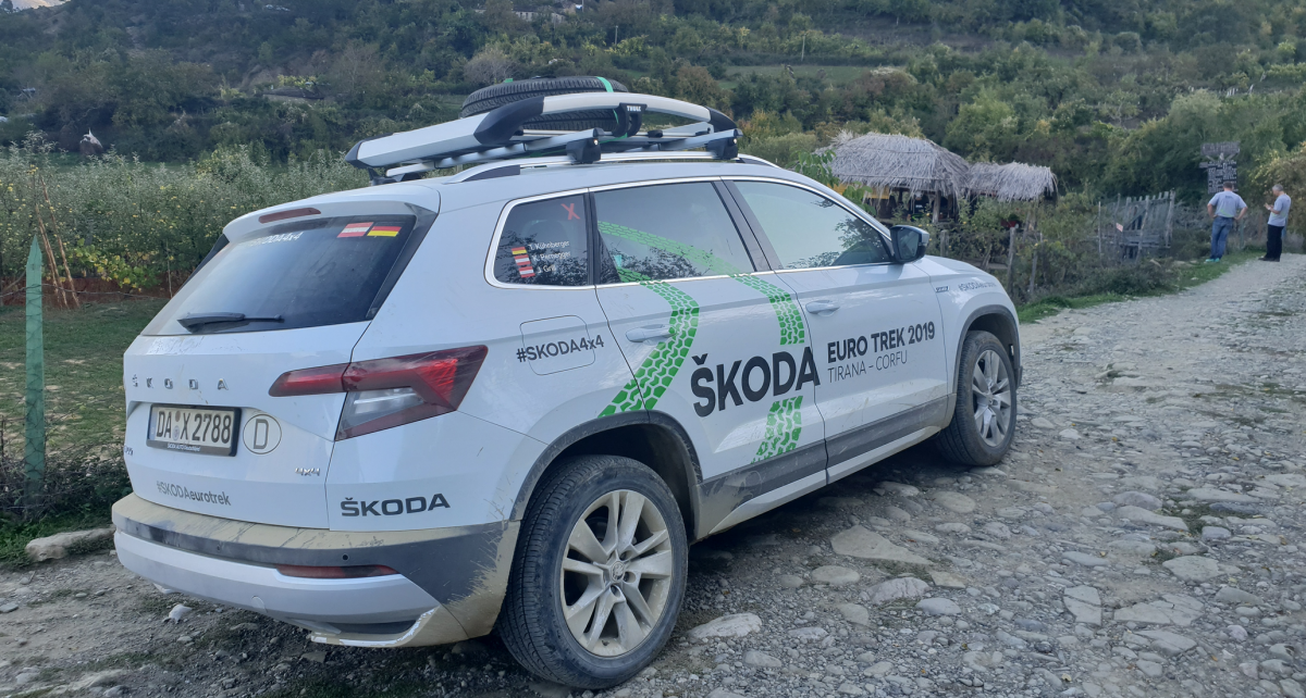 Skoda Euro Trek 2019 im Video