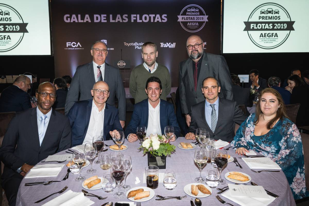 Fleet and Mobility Management Federation Europe (FMFE) an der Gala de las Flotas in Madrid