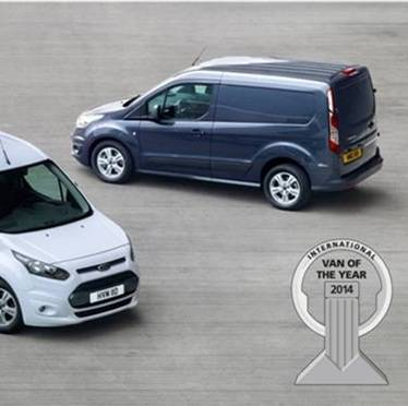 Neuer Ford Transit Connect ist International Van of the Year 2014
