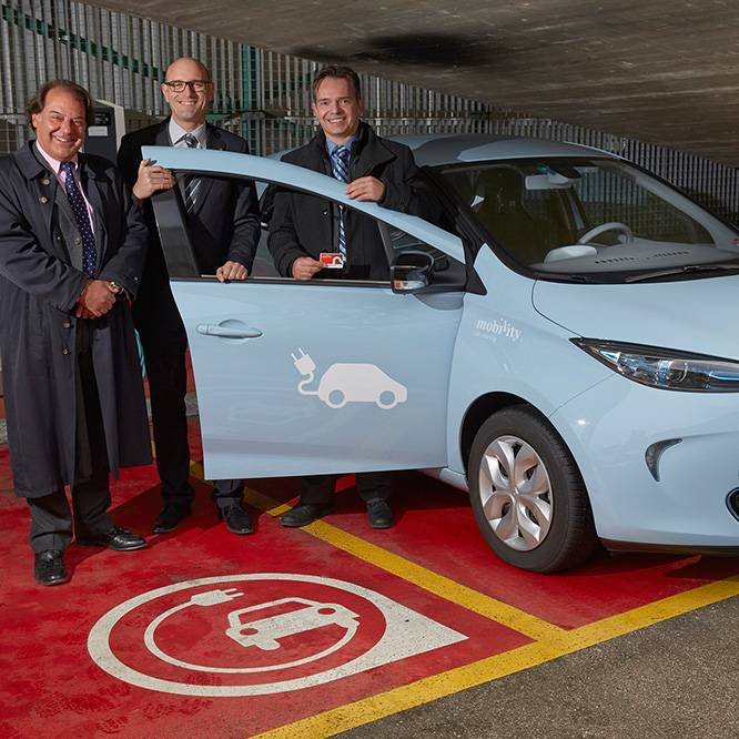 19 Renault Zoe für Mobility Carsharing