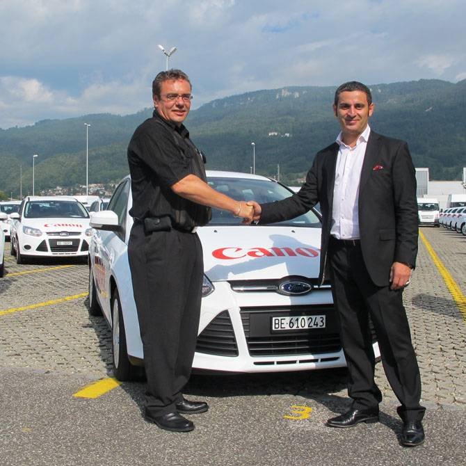 Ford liefert Canon neue Focus Station Wagon