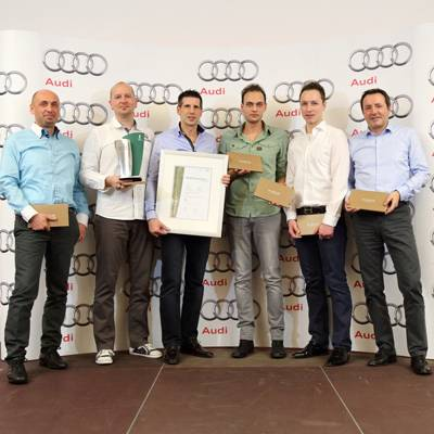 Audi Center Zürich Altstetten: Dritter Twin Cup-Sieg des Technik-Teams
