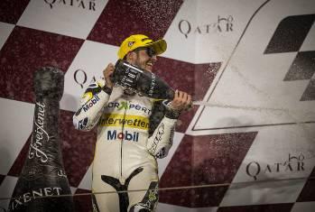 Moto2: Tom Lüthi brilliert in Qatar, Raffin holt zwei WM-Punkte