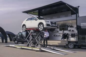 Audi Service Truck: Gratis Fahrzeug-Check von Audi