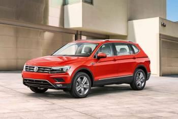 Der VW Tiguan wächst zum Siebenplätzer heran