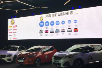 Peugeot 3008 gewinnt «Car of the Year 2017»