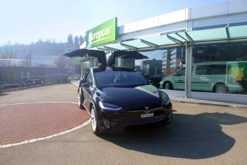 Europcar vermietet seit kurzem das Tesla Model X