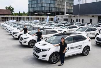 Ford: neuer Car Supplier von Swiss Ice Hockey