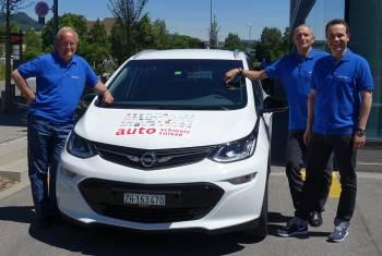 auto-schweiz: Team auto-schweiz bereit für E-Rallye WAVE
