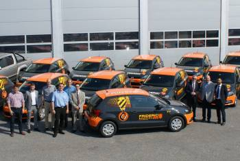 Friderici Spécial SA: 13 neue VW Polo zum Abschied des Patrons