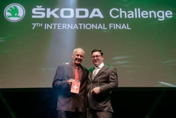 Schweizer WM-Titel an der internationalen Škoda Challenge 2017