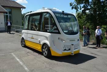 Selbstfahrender Bus: «Silicon Valley» in Schaffhausen