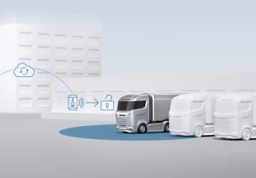 Digitaler Schlüssel erleichtert Flottenmanagement