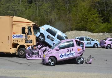 Notbremsassistenten für Lastwagen retten Leben